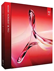 Adobe Acrobat X Professional Upgrade