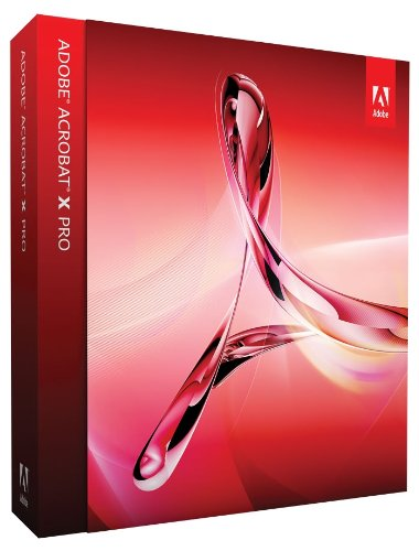 Adobe Acrobat X Professional Upsell Upgrade
