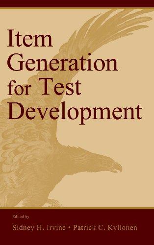 Item Generation for Test Develop.