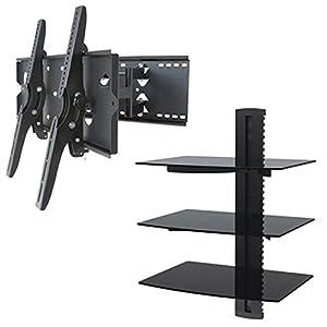 Amazon Com 2xhome New Tv Wall Mount Bracket Dual Arm