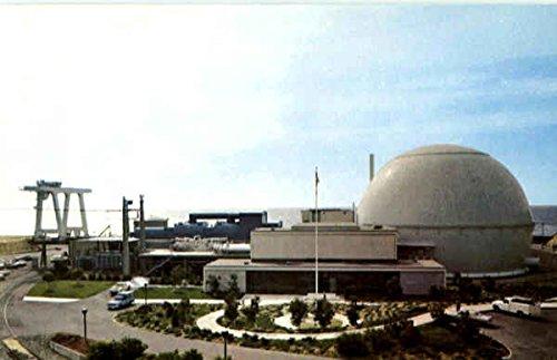 San Onofre Nuclear Generating Station San Clemente, Ca Original Vintage Postcard