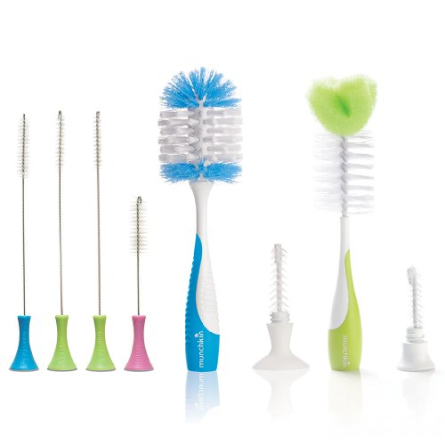 Munchkin Set Of Deluxe Bottle Brush And Bottle & Nipple Brush front-864557