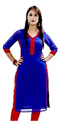 Expert Women's New Fashion Designer Fancy Wear Collection Todays Low Price Best Offer All Type Of Modern Georgette Blue Colored Chudidar Salwar Suit
