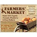 Farmer's Market Natural Bar Soap Pumpkin Spice -- 5.5 oz ( Multi-Pack) by FARMER'S MARKET