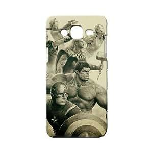 BLUEDIO Designer 3D Printed Back case cover for Samsung Galaxy E7 - G1927