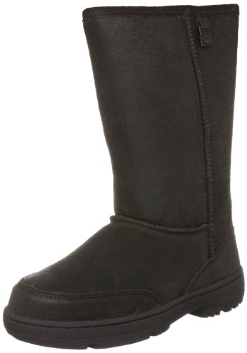 Bearpaw Women's Meadow Vintage Chocolate Fur Trimmed Boot 1214W 5 UK