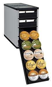 YouCopia CoffeeStack® 40 Keurig K-Cup Cabinet Organizer, Silver