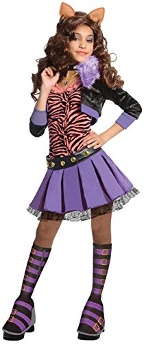 Deluxe Clawdeen Wolf Child Costume Size:Large