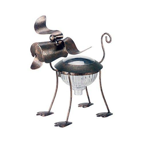 Smart Solar 3565Wrm1 Metal Solar Dog Light
