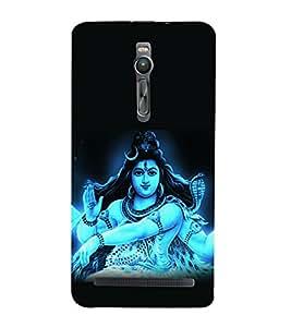 printtech Lord God Om Namah Shivaya Back Case Cover for Asus Zenfone 2::Asus Znfone 2 ZE550ML
