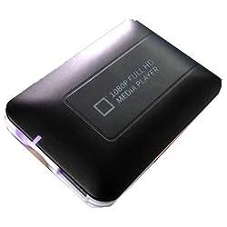 PC動画をTV再生 1080P HDMI ポータブルメディアプレーヤー FS-HDMD300BK