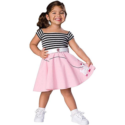 50s Girl Toddler Costume - Toddler