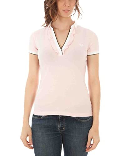 Fred Perry Polo Rosa L