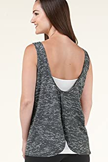 Open Back Burnout Tank - KOS USA
