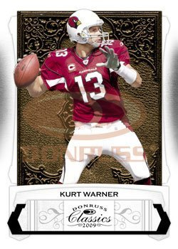 Kurt Warner - Arizona Cardinals - 2009 Donruss Classics NFL Trading Card