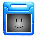 KaysCase KidBox Cover Case for Apple iPad 2, iPad 3 - the new iPad (Blue)