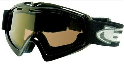Bolle X-9 OTG Goggle,Shiny Black,Polarized Brown Lens