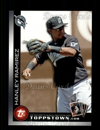 2010 Topps Ticket to Topps Town # 3 TTT Ticket to Topps Town Hanley Ramirez Miami Marlins (Baseball Card) Dean's Cards 8 - NM/MT (Tickets To Miami compare prices)