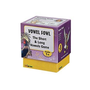 EDUPRESS Vowel Fowel Last One Standing Game - 1