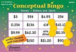 Conceptual Bingo Money
