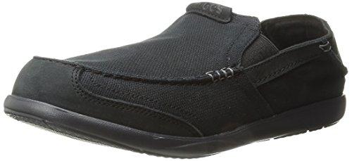 crocs Men's Walu Express Loafer,Black/Black