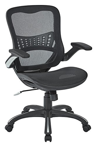 office-star-mesh-back-seat-2-to-1-synchro-lumbar-support-managers-chair-black