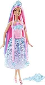 Barbie Endless Hair Kingdom Doll, Blue