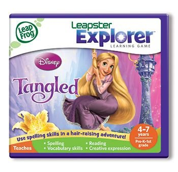 Leapfrog Leapster Explorer Learning Game Disney Tangled By Leapfrog Enterprises
