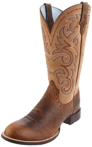 Ariat Women's Heritage Horseman Boot,Earth/Gate Post Brown,9 M US