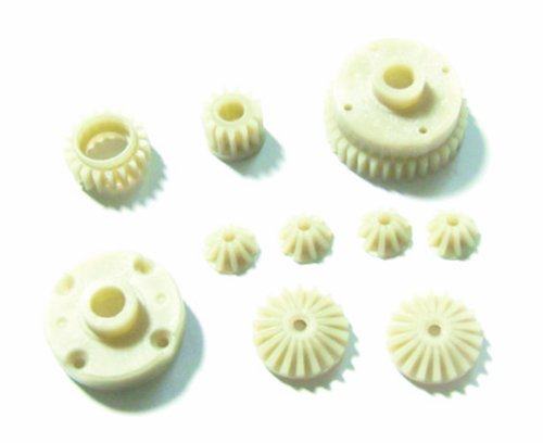 Redcat Racing Differential Main Gear, Idler Gear, Differential Pinion  Gear, Differential Large Bevel Gears, Differential  Small Bevel Gears and Differential Inner Mount - 1