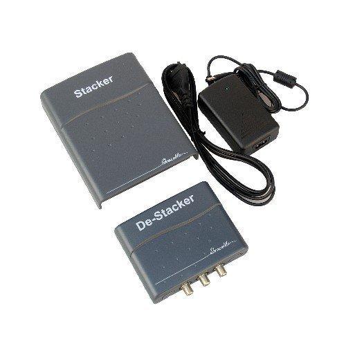 Stacker De-Stacker Multikonverter Einkabellösung für Sat-Empfang  (Ein Kabel für 2 Receiver!)