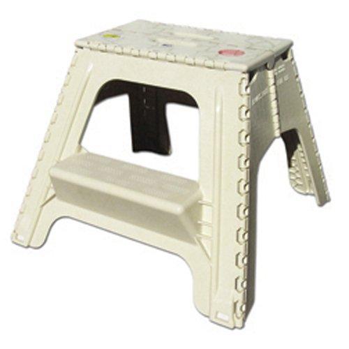 B Amp R Plastics 104 6bg Beige Foldz Step Stool