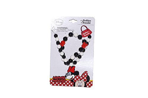 Disney Mickey and Minnie Mouse Baby Girls Dress Up Accessory - Bracelet and Necklace Set