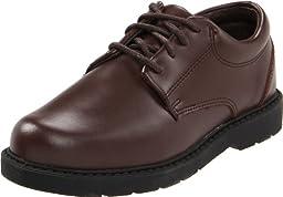 School Issue Scholar 5210 Uniform Shoe (Toddler/Little Kid/Big Kid),Brown Leather,1 W US Little Kid
