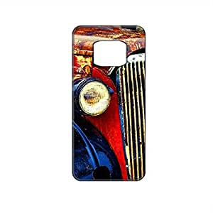 Vibhar printed case back cover for Samsung Galaxy Alpha HeadLight