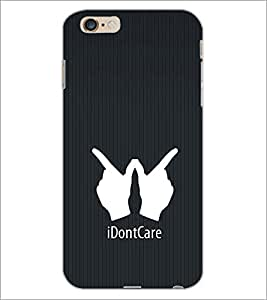 PrintDhaba Quote D-2403 Back Case Cover for APPLE IPHONE 6 PLUS (Multi-Coloured)