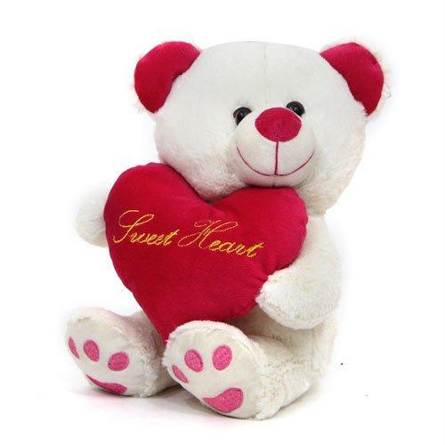 Teddy-Bear-Soft-toy-Squashy-White-Heart-Teddy-Gift-for-Valentine-GIFTS110299-Valentine-Gift-Gift-Gift-for-Girlfriend-Gift-for-Wife-Gift-for-kids-Gift-for-Womens-Day-Gift-for-Women-Birthday-Gift-Annive