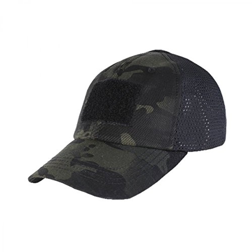 Cheap CONDOR TCM-021: Tactical Cap Mesh MultiCam Black