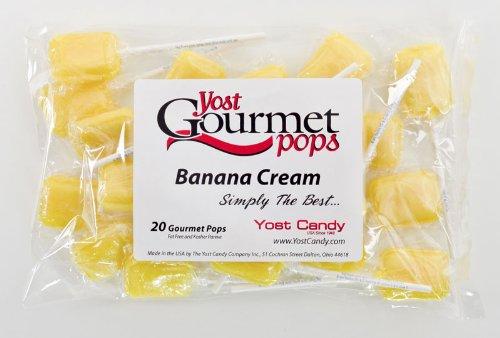 Yost Gourmet Pops, 20 Count Bag - Banana Cream