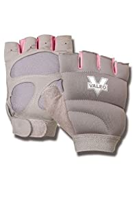 Valeo Women's Weighted Power Gloves (Gray, one Size)