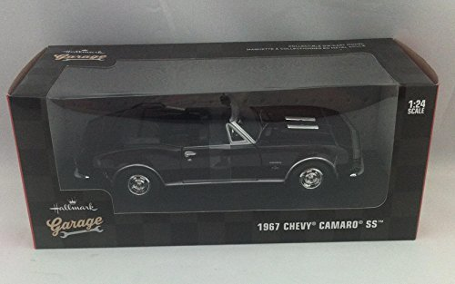 Hallmark KCK1017 1:24 Scale Black 1967 Chevrolet Camaro SS Model (1 24 Diecast Cars Camaro compare prices)