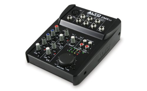 Alto Professional ZMX52, 5-Channel, 6 Input,