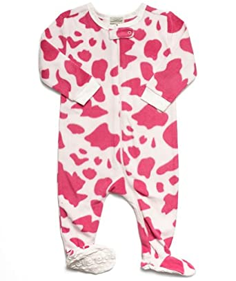 Leveret (F) Footed Pink   White Cow Print Fleece Pajama Sleeper (6-12 Months)  · view recommendations for this product. The pajamas we ordered look used  and ... 6e85a0cae