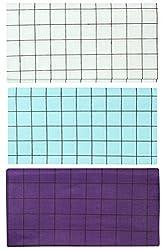 ERD Tex Men's Cotton Lungi, Set of 3 (Multi-Coloured, 2 Meters)