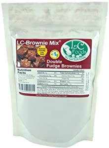 Double Chocolate Brownies Sugar Free by LC-Foods