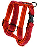Planet Dog Cozy Hemp Adjustable Harness, Orange, Large