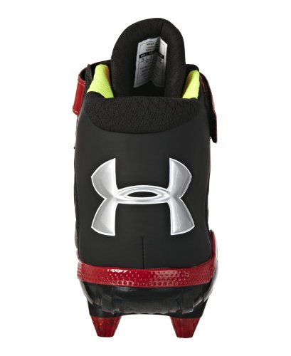 0042b06ae43 pictures of Under Armour Men s UA Fierce Havoc Mid D Football Cleats 13  Black