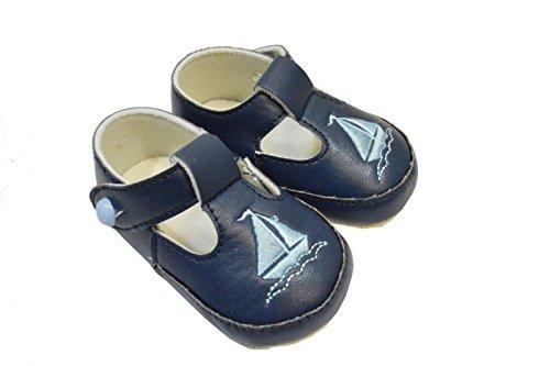 ORIGINMENSWEAR, Stivaletti bambini Blu navy UK 6-12 Months