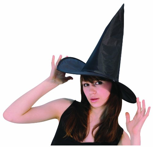 Satin Witch Adult Hat Halloween Costume Accessory