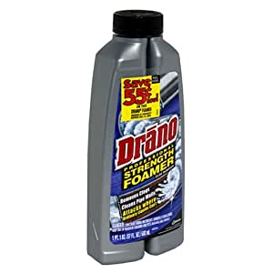 Drano Foaming Liquid Drain Cleaner Chemical Drain